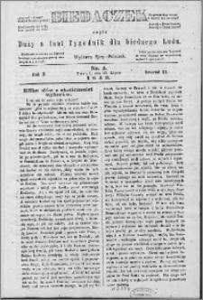 Biedaczek : czyli mały i tani tygodnik dla biednego ludu, 1849.07.27 R. 2 nr 4