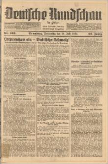 Deutsche Rundschau in Polen. J. 52, 1928, nr 163