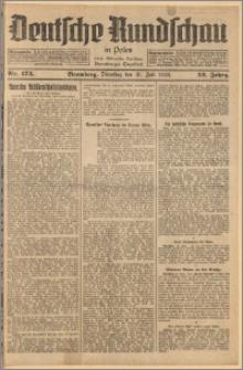 Deutsche Rundschau in Polen. J. 52, 1928, nr 173