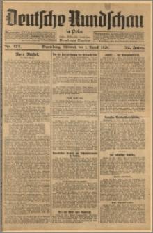Deutsche Rundschau in Polen. J. 52, 1928, nr 174