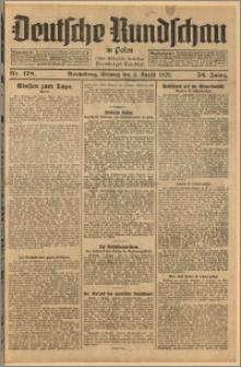 Deutsche Rundschau in Polen. J. 52, 1928, nr 178
