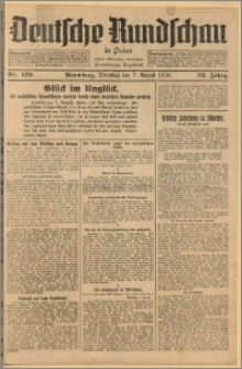 Deutsche Rundschau in Polen. J. 52, 1928, nr 179