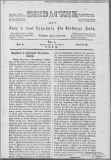Biedaczek : czyli mały i tani tygodnik dla biednego ludu, 1849.08.03 R. 2 nr 5