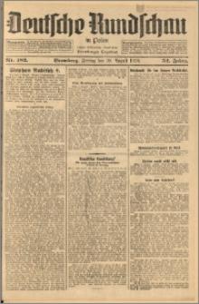 Deutsche Rundschau in Polen. J. 52, 1928, nr 182