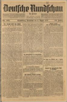 Deutsche Rundschau in Polen. J. 52, 1928, nr 183