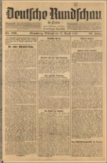 Deutsche Rundschau in Polen. J. 52, 1928, nr 186