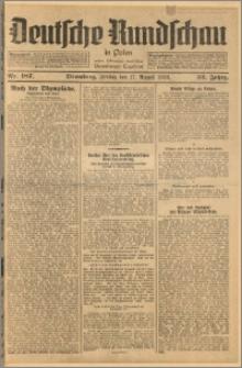 Deutsche Rundschau in Polen. J. 52, 1928, nr 187