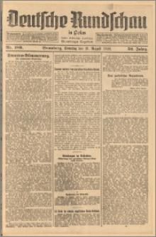 Deutsche Rundschau in Polen. J. 52, 1928, nr 189