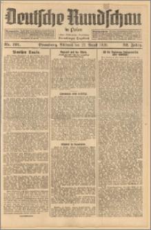 Deutsche Rundschau in Polen. J. 52, 1928, nr 191