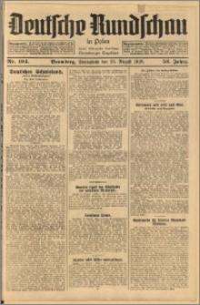 Deutsche Rundschau in Polen. J. 52, 1928, nr 194