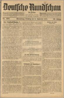 Deutsche Rundschau in Polen. J. 52, 1928, nr 208