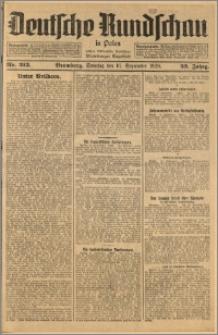 Deutsche Rundschau in Polen. J. 52, 1928, nr 213