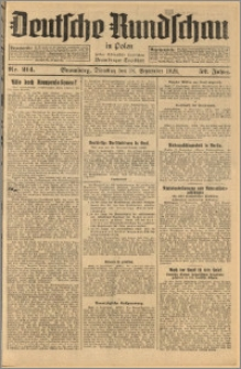 Deutsche Rundschau in Polen. J. 52, 1928, nr 214
