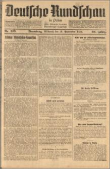 Deutsche Rundschau in Polen. J. 52, 1928, nr 215