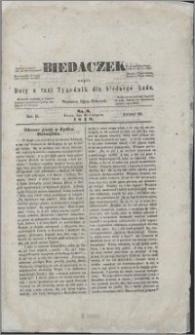 Biedaczek : czyli mały i tani tygodnik dla biednego ludu, 1849.08.24 R. 2 nr 8