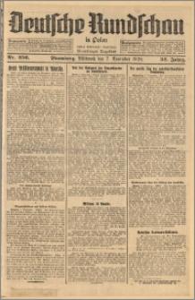 Deutsche Rundschau in Polen. J. 52, 1928, nr 256