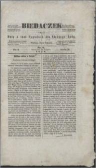 Biedaczek : czyli mały i tani tygodnik dla biednego ludu, 1849.08.30 R. 2 nr 9