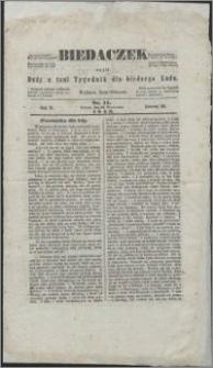 Biedaczek : czyli mały i tani tygodnik dla biednego ludu, 1849.09.14 R. 2 nr 11