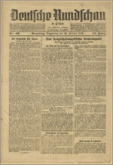 Deutsche Rundschau in Polen. J. 53, 1929, nr 49