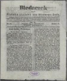 Biedaczek : czyli mały i tani tygodnik dla biednego ludu, 1849.10.06 R. 2 nr 2