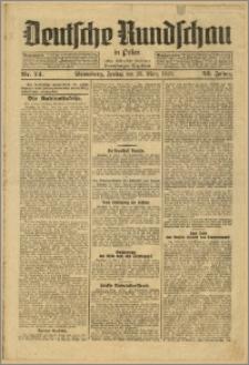 Deutsche Rundschau in Polen. J. 53, 1929, nr 74