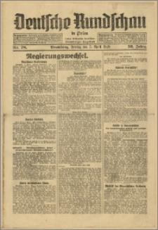 Deutsche Rundschau in Polen. J. 53, 1929, nr 78