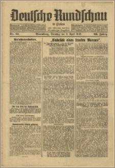 Deutsche Rundschau in Polen. J. 53, 1929, nr 81