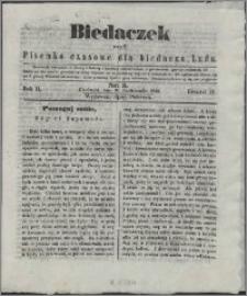 Biedaczek : czyli mały i tani tygodnik dla biednego ludu, 1849.10.10 R. 2 nr 3