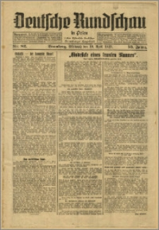 Deutsche Rundschau in Polen. J. 53, 1929, nr 82