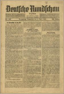 Deutsche Rundschau in Polen. J. 53, 1929, nr 83