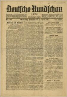 Deutsche Rundschau in Polen. J. 53, 1929, nr 85