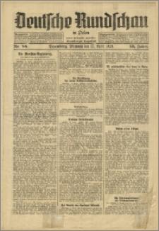 Deutsche Rundschau in Polen. J. 53, 1929, nr 88