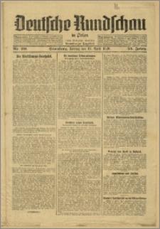 Deutsche Rundschau in Polen. J. 53, 1929, nr 90