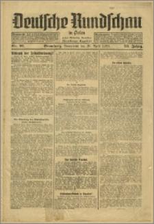 Deutsche Rundschau in Polen. J. 53, 1929, nr 91