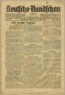 Deutsche Rundschau in Polen. J. 53, 1929, nr 92
