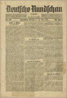 Deutsche Rundschau in Polen. J. 53, 1929, nr 94