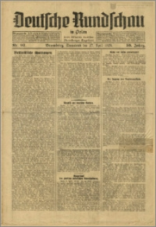 Deutsche Rundschau in Polen. J. 53, 1929, nr 97