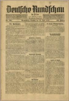Deutsche Rundschau in Polen. J. 53, 1929, nr 98