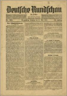 Deutsche Rundschau in Polen. J. 53, 1929, nr 108