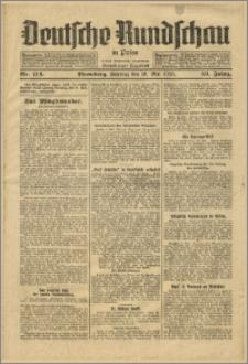 Deutsche Rundschau in Polen. J. 53, 1929, nr 114