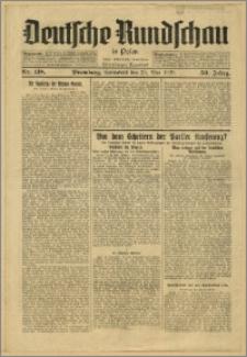 Deutsche Rundschau in Polen. J. 53, 1929, nr 118