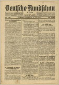 Deutsche Rundschau in Polen. J. 53, 1929, nr 119