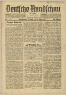 Deutsche Rundschau in Polen. J. 53, 1929, nr 121