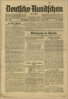 Deutsche Rundschau in Polen. J. 53, 1929, nr 123