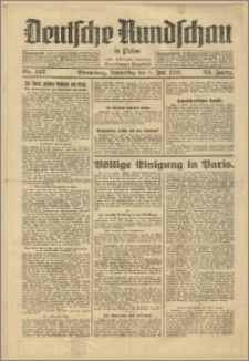 Deutsche Rundschau in Polen. J. 53, 1929, nr 127