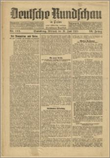 Deutsche Rundschau in Polen. J. 53, 1929, nr 144