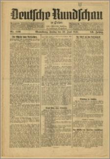 Deutsche Rundschau in Polen. J. 53, 1929, nr 146