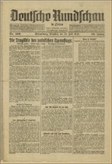 Deutsche Rundschau in Polen. J. 53, 1929, nr 160