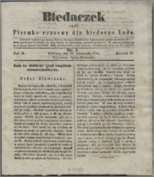 Biedaczek : czyli mały i tani tygodnik dla biednego ludu, 1849.10.24 R. 2 nr 7