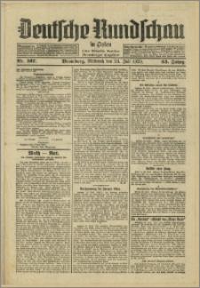 Deutsche Rundschau in Polen. J. 53, 1929, nr 167